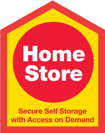 HomeStore Self Storage logo