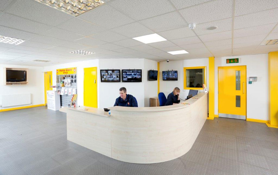 Ipswich Self Storage reception