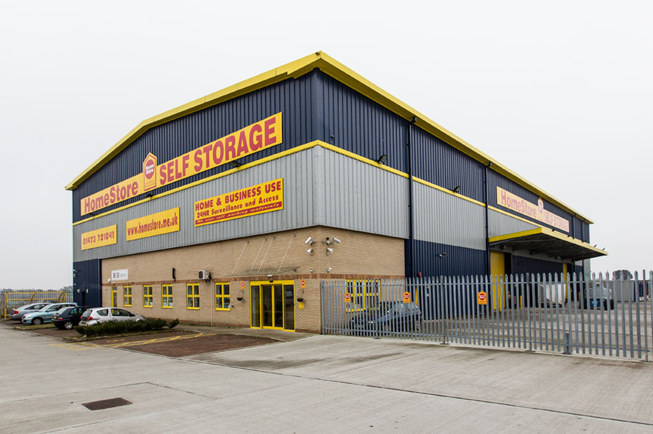 HomeStore Self Storage Ipswich, Suffolk. IP3 9SW 01473 721041