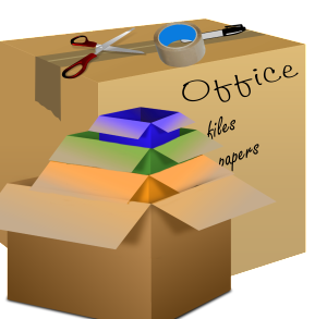 Label boxes so that you can find items quickly