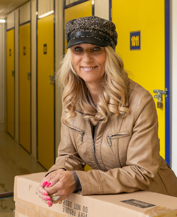 Tina Knowels - HomeStore Ipswich business storage customer